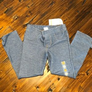 Gymboree Jeggings 4T NWT with Bow accent at ankle